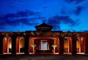 Eingang des neuen Mandapa auf Bali. Bild: Mandapa, A Ritz-Carlton Reserve