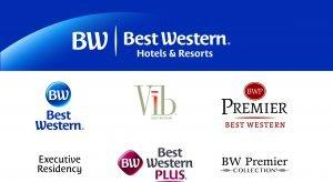 So könnten ab 2016 die neuen Best-Western-Logos aussehen.