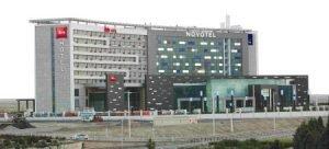 Visualisierung der neuen Novotel- und Ibis-Fassade in Teheran. Bild: AccorHotels/Kaveh Seyed Ahmadian