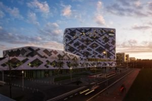 Das neue Hilton Amsterdam Airport Schiphol. Bild: Hilton Worldwide