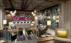 Rendering der WXYZ Rendering - Bar des Aloft Brighton. Bild: Starwood Hotels & Resorts