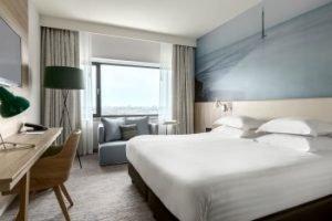 Deluxe King Zimmer. Bild: Marriott