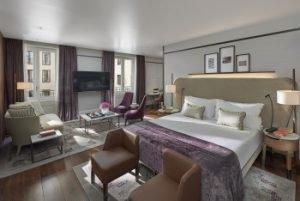 Junior Premier Suite des Mandarin Oriental, Milan. Bild: Mandarin Oriental Hotel Group