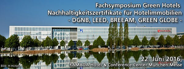 fachsymposium Green Hotels