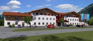 Rendering Styles Hotel Piding. Bild: BfP Hotelbau GmbH/Sporer Plus