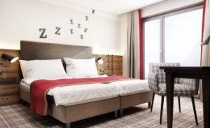 Zimmer der Traumschmiede in Unterneukirchen. Bild: Appia