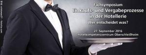 Fachsymposium Einkaufs- und Vergabeprozesse in der Hotellerie