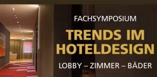 Fachsymposium Trends im Hoteldesign