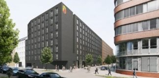Rendering des Super 8 in der Eiffestraße in Hamburg