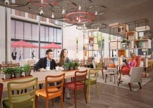 Das neue Restaurant-Design von Matteo Thun. Bild: IntercityHotel