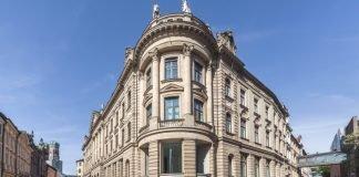 Gebäude der Bayerischen Staatsbank in Muenchen