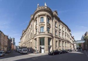 Das Gebäude an der Kardinal-Faulhaber-Straße 1. Bild: Bayerische Hausbau