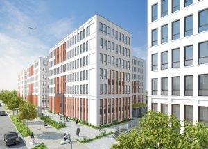 """Am Flughafen Berlin soll das erste """"99 Hotel"""" Deutschlands entstehen. Bild: Project Immobilien"""