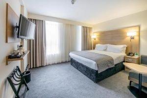 Das Holiday Inn London verfügt über 708 Zimmer. Bild: www.edtelling.com