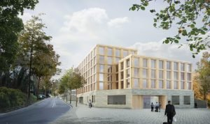 Vienna House Kronberg im neuen Musikquartier im Taunus. Bild: Staab Architekten