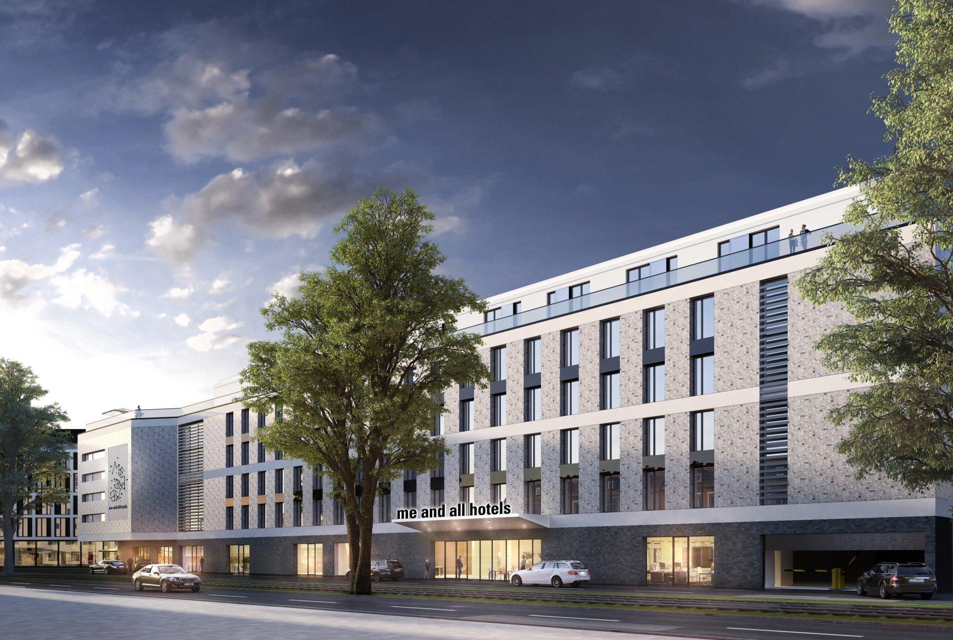 Visualisierung des me and all hotels Düsseldorf-Oberkassel