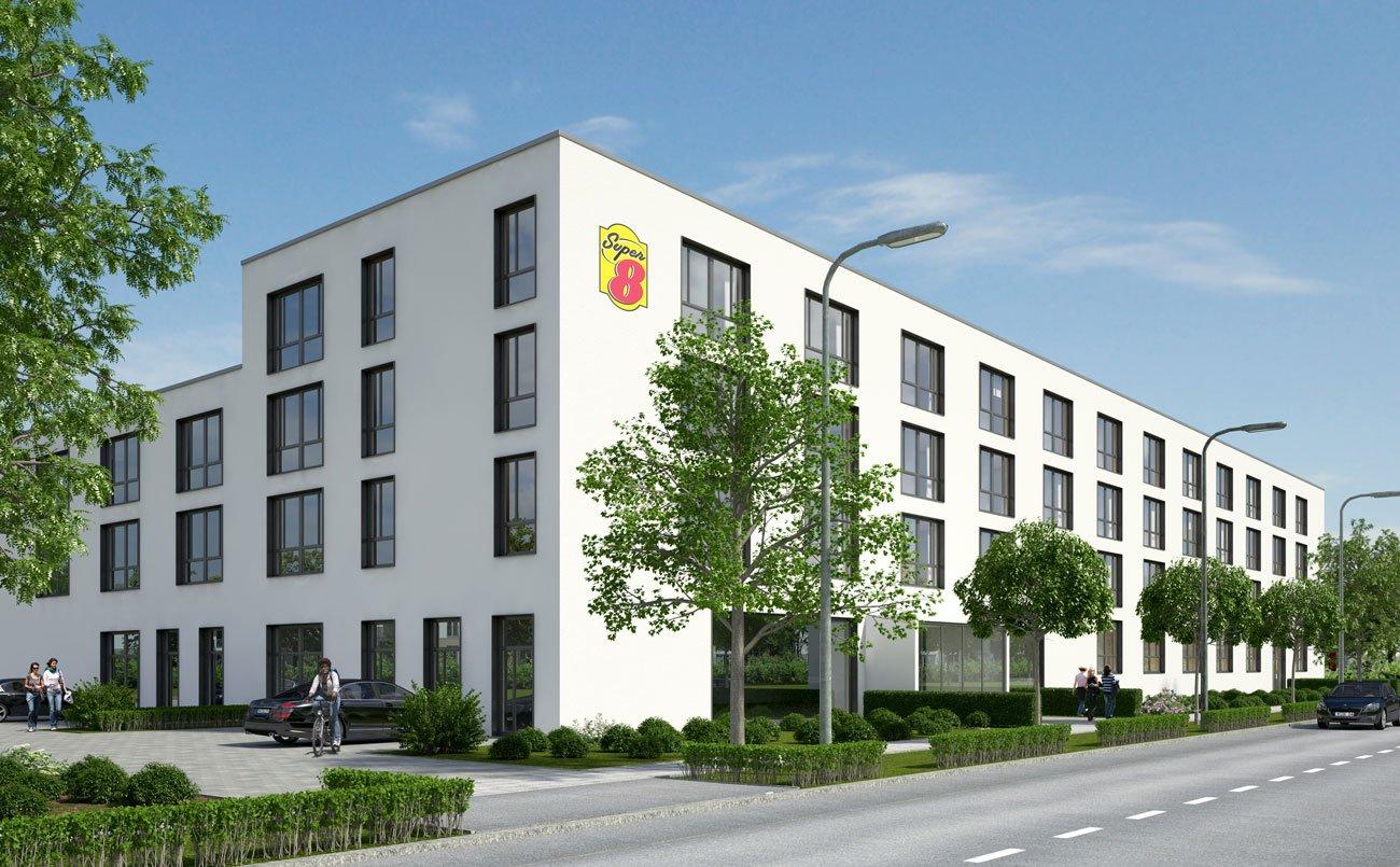 Freiburg Bekommt Ein Super 8 Hotelbau