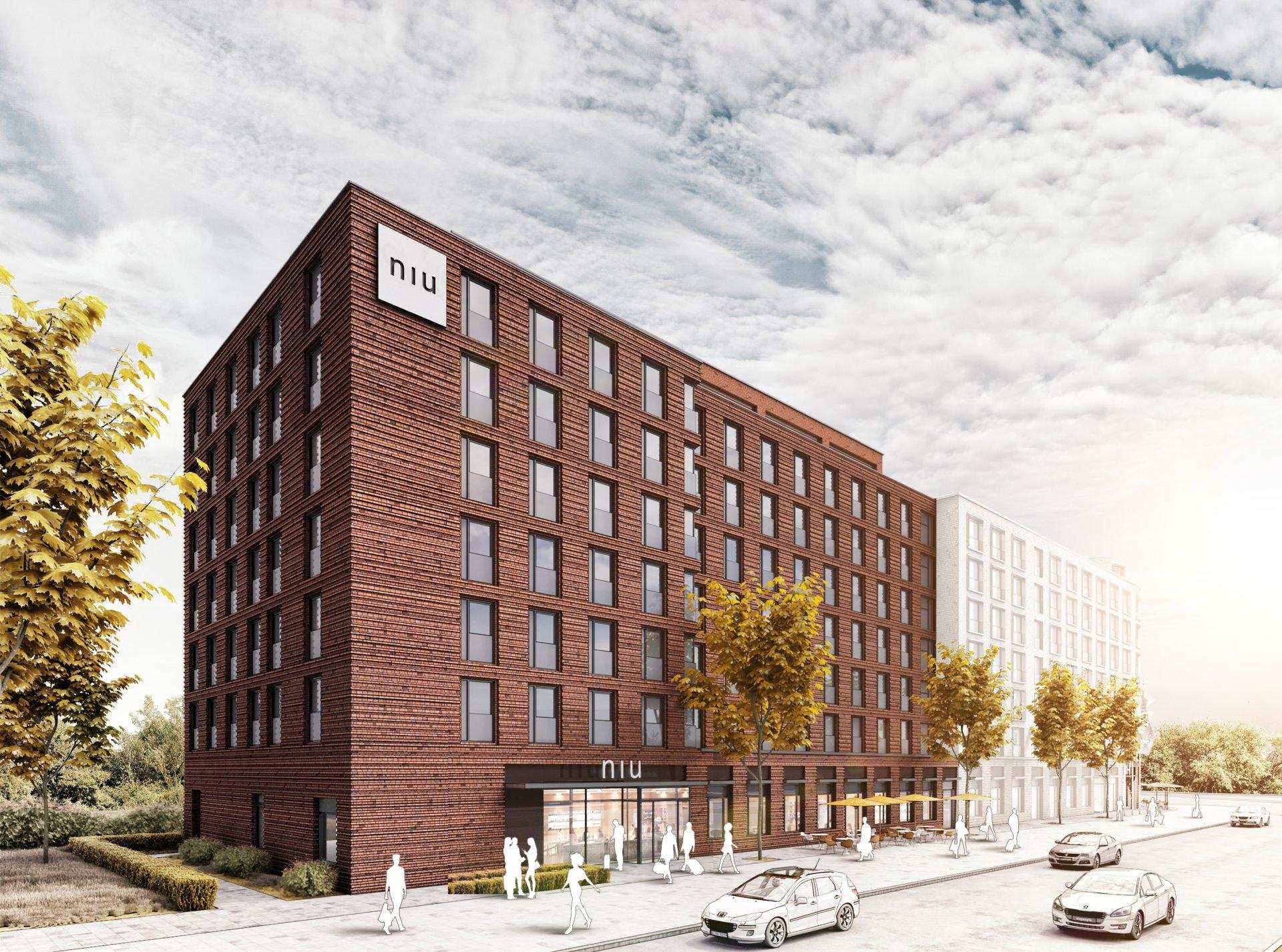 Das erste Haus der Marke niu in Mannheim. Bild: Novum Hospitality