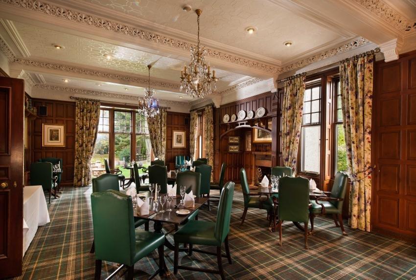 Huntingtower Hotel Restaurant © Leonardo Hotels