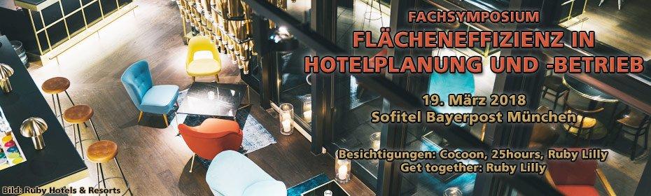 Fachsymposium Flächeneffizienz in Hotelplanung und -betrieb