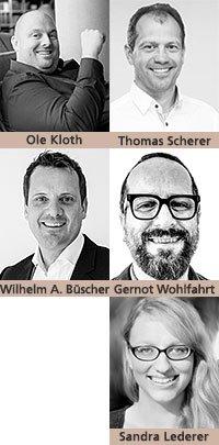 Ole Kloth, Thomas Scherer, Wilhelm Andreas Büscher, Gernot Wohlfahrt, Sandra Lederer
