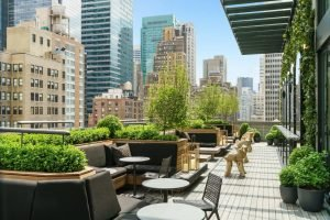 Rooftop-Lounge des AC Hotel New York Times Square