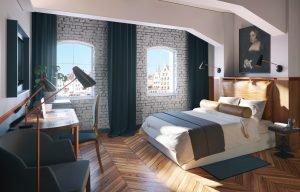 Zimmer im Radisson Hotel & Suites, Danzig