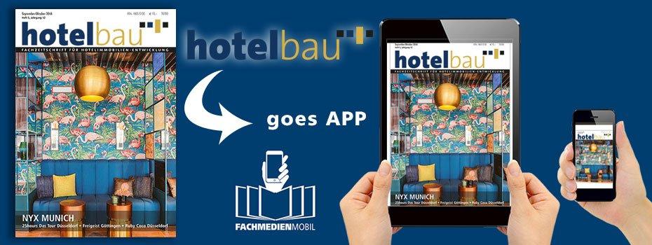 hotelbau goes App