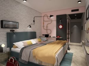 Rendering eines Zimmers der neuen Marke Urban Loft.