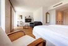 Ein frisch renoviertes Zimmer im Hotel Hirschen. Bild: Choice Hotels