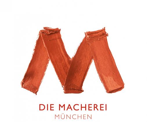 das Logo der Quartiersentwicklung Die Macherei in München von Art-Invest und Accumulata