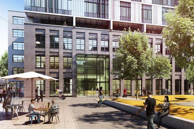 Rendering des geplanten Inkubatorgebäudes. Bild: Art-Invest Real Estate, Accumulata Immobilien Development