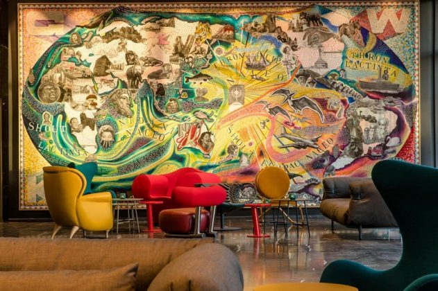 Neben dem Thema Post liegt der Fokus des Interior Designs auch auf der Kommunikation. Bild: Motel One