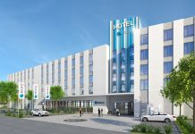 Rendering des Select-Hotels im GVZ Region Augsburg. Bild: Eser Real Estate
