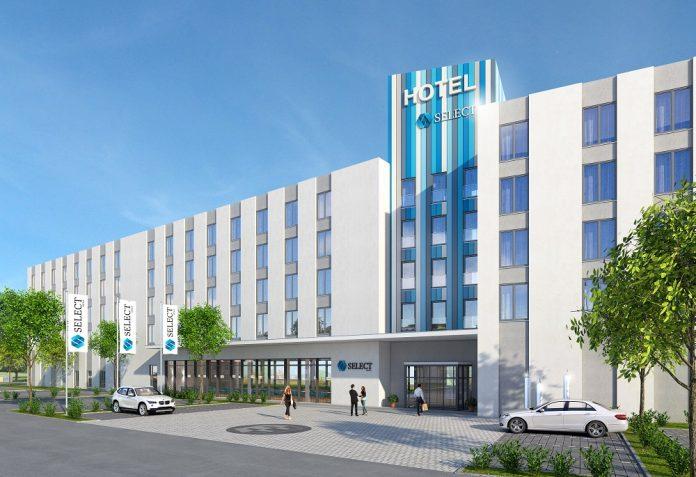 Rendering des Select-Hotels im GVZ Region Augsburg. Bild: Eser Real Estate