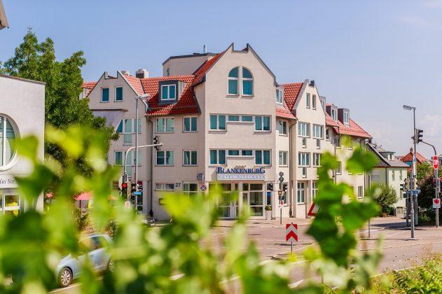 Das Plaza Hotel Blankenburg Ditzingen. Bild: Best Western