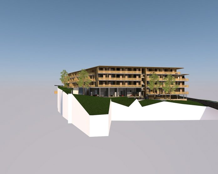 Rendering des geplanten Upscale-Hotels in Bad Steben. Bild: Badstraße Projekt GmbH