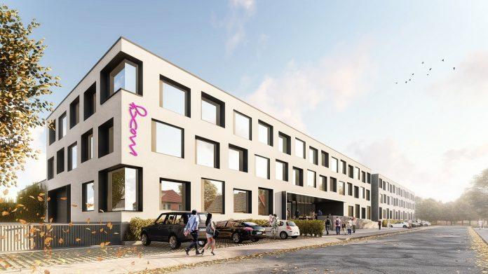 Rendering des Moxy Rust. Bild: Schmidt Architekten Gruppe