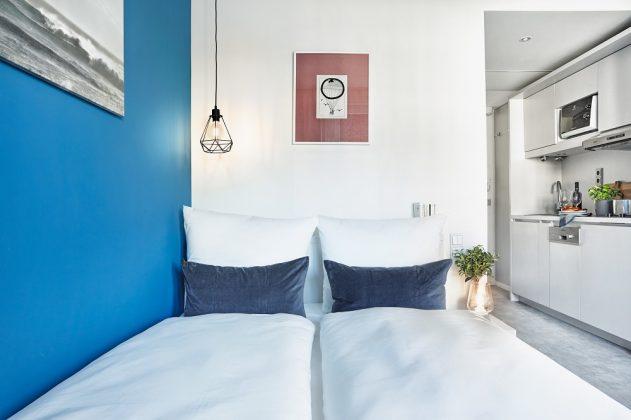 Gemütlichkeit auf Zeit: Serviced Apartments sind eine Mischung aus Hotelzimmer und Wohnung. Bild: H-Hotels.com