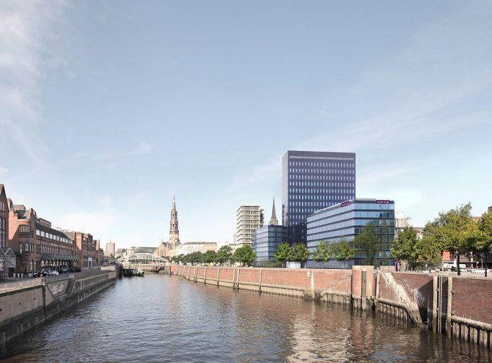 Direkt an der Alster liegt das Premium Inn Hamburg City. Bild: Winking + Froh Architekten