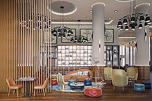 Leonardo Royal Bild: Neudahm Hotel Interior Design