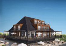 Rendering des Fliegerdeich Hotel & Restaurant. Bild: Heimathafen Hotels