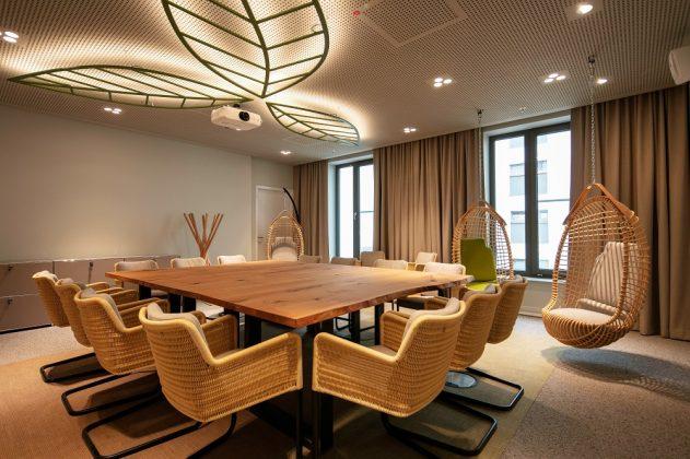 Der Tagungsbereich verfügt über einen Kreativraum. Bild: J. Vogt/Ariva Hotel