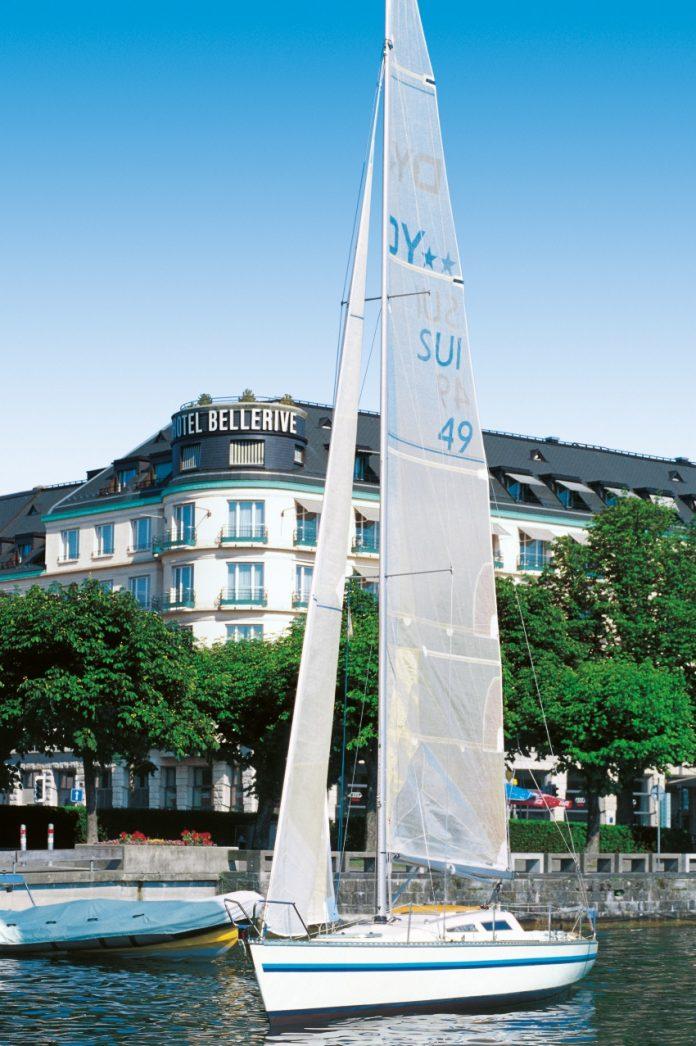 2020 wird das Steigenberger Bellerive au Lac ein Ameron-Hotel. Bild: Necron AG