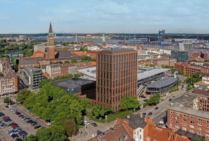 Visualisierung des Hampton by Hilton in Kiel. Bild: MPP Meding Plan + Projekt GmbH