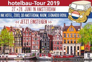 hotelbau Amsterdam-Tour 2019