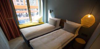 Musterzimmer des Gambino Hotel Werksviertel. Bild: Gambino Hotels