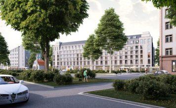 Rendering des Prizeotel Dresden-City. Bild: prasch buken partner architekten
