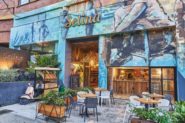 Außenansicht eines Selina Hotels. Bild: Selina