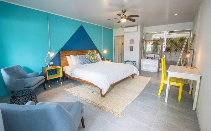 Zimmeransicht eines Selina Hotels. Bild: Selina